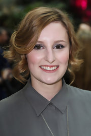 Laura Carmichael look fab in her short brown locks at the nominees party of the Philips British Academy Television Awards.