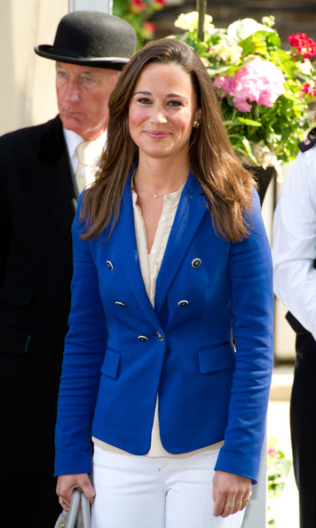 Pippa Middleton Long Straight Cut