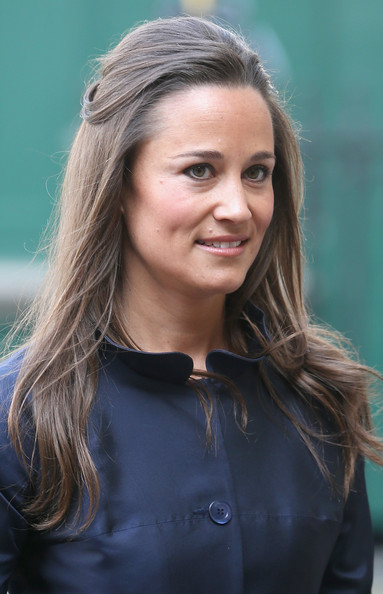 Pippa Middleton Half Up Half Down