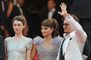 Astrid Berges Frisbey and Johnny Depp Photo