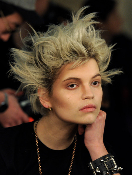 Pixie Geldof Messy Cut