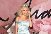 Pixie Lott Off-the-Shoulder Dress