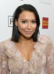 Naya Rivera kept it simple with this side-parted straight cut at the Point Honors Los Angeles event.