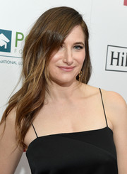 Kathryn Hahn looked oh-so-glam with her side-parted waves at the Point Honors Los Angeles event.