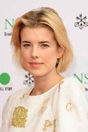 Agyness Deyn attended the Pop Art Ball wearing her classic bob with minimal styling.