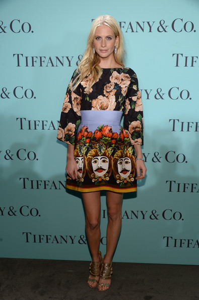 Poppy Delevingne Mini Skirt