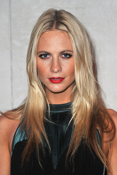 Poppy Delevingne Long Center Part