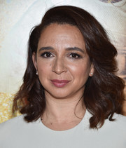 Maya Rudolph showed off a perfectly styled wavy 'do at the New York premiere of 'Popstar: Never Stop Never Stopping.'