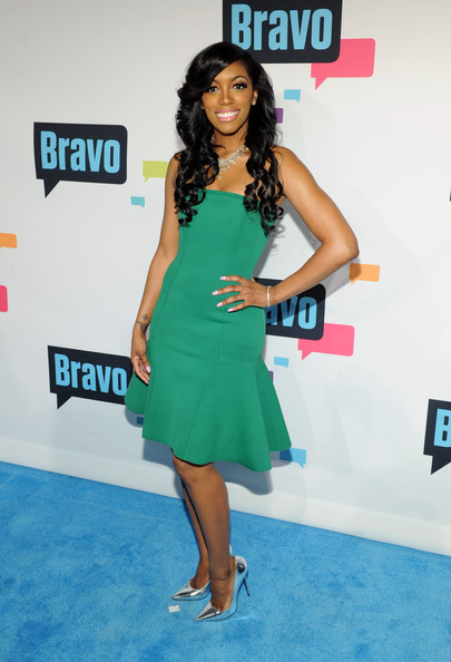 Porsha Stewart Strapless Dress