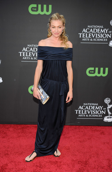 Portia de Rossi Sequined Clutch