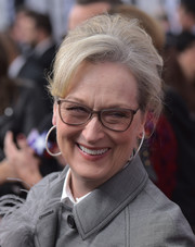 Meryl Streep attended the Washington, DC premiere of 'The Post' wearing her hair in a pared-down beehive.