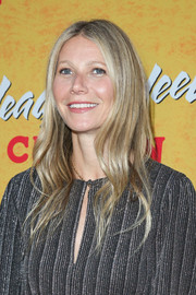 Gwyneth Paltrow framed her face with a gently wavy 'do for the pre-Broadway opening engagement of 'Head Over Heels.'