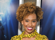 Ryan Michelle Bathe rocked her natural curls at the premiere of 'Breakthrough.'