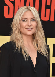 Kate Hudson sported boho-chic waves at the premiere of 'Snatched.'