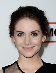 Alison Brie traded in her Trudy Campbell 'do at the 'Mad Men' Season 6 for this modern messy style.