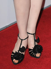 "Julianna showed off a pair of cute ankle strap heels on the red carpet premiere of ""City Island"". Her dress was cute, but her shoes stole the show."