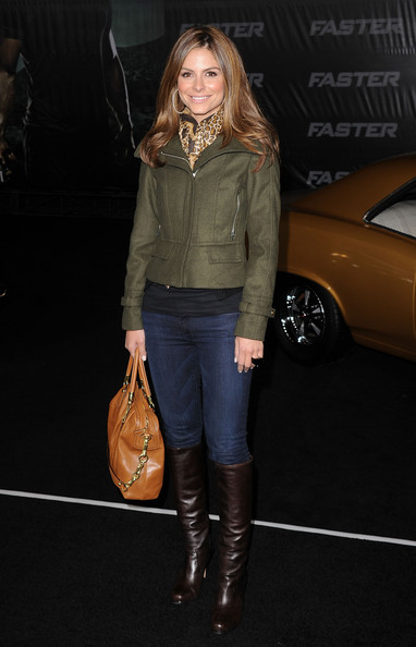 More Pics of Maria Menounos Knee High Boots (1 of 7) - Maria Menounos Lookbook - StyleBistro