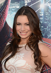 Sophie Simmons looked great with her wavy hair down at the premiere of 'The Amazing Spider-Man.'