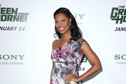 TV Personality Omarosa Manigault-Stallworth  arrives at Columbia Pictures' 'The Green Hornet' premiere at Graumans Chinese Theatre on January 10, 2011 in Hollywood, California.