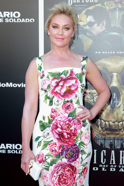 More Pics of Elisabeth Rohm Print Dress (1 of 10) - Elisabeth Rohm Lookbook - StyleBistro