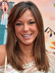 Eva la Rue sported a simple straight cut with side-swept bangs when she attended the premiere of 'Cloudy with a Chance of Meatballs 2.'