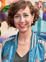 Kristen Schaal sported a curled-out bob at the premiere of 'Cloudy with a Chance of Meatballs 2.'