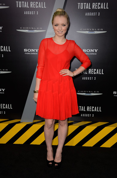 Francesca Fisher-Eastwood in Lipstick Red