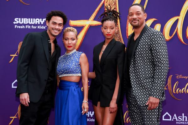 More Pics of Willow Smith Evening Sandals (1 of 17) - Willow Smith Lookbook - StyleBistro [aladdin,event,carpet,premiere,fashion,flooring,performance,fashion design,style,arrivals,jada pinkett smith,willow smith,trey smith,will smith,l-r,disney,premiere,premiere]