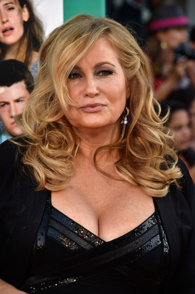 Jennifer Coolidge attended the premiere of 'Alexander and the Terrible, Horrible, No Good, Very Bad Day' wearing her hair in big, sexy curls.