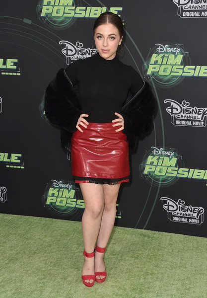 More Pics of Baby Ariel Platform Sandals (1 of 2) - Heels Lookbook - StyleBistro [kim possible,clothing,footwear,fashion,leg,joint,premiere,carpet,dress,muscle,thigh,ariel,arrivals,california,los angeles,disney channel,the television academy,premiere,premiere]