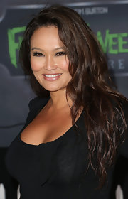 Tia Carrere sported boho waves at the premiere of 'Frankenweenie.'