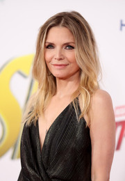 Michelle Pfeiffer looked stylish with her omber hair at the premiere of 'Ant-Man and the Wasp.'