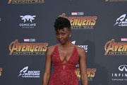 Danai Gurira Empire Gown