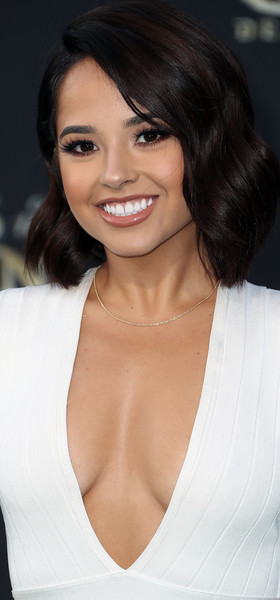 Becky G looked oh-so-cute with her wavy lob at the premiere of 'Pirates of the Caribbean: Dead Men Tell No Tales.'