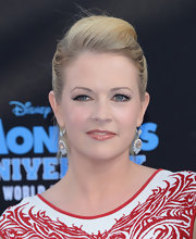 Melissa Joan Hart pulled back her blonde tresses into a teased ponytail at the 'Monsters University' premiere.