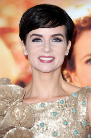 Victoria Summer looked youthful and cute wearing her hair in a pixie at the premiere of 'Saving Mr. Banks.'