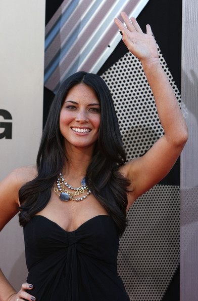 More Pics of Olivia Munn Multi Beaded Necklace (1 of 2) - Olivia Munn Lookbook - StyleBistro