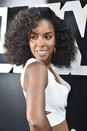 Kelly Rowland rocked voluminous curls at the premiere of 'BlacKkKlansman.'