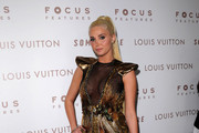 TV personality Karissa Shannon arrives at Focus Features'