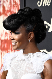 Gabrielle Union attended the premiere of 'The Birth of a Nation' rocking a row of hair knots.