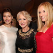 Jessica Biel and Helen Mirren