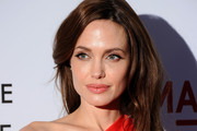 Actress Angelina Jolie arrives at premiere of Fox Searchlight Pictures'