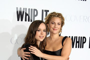 Drew Barrymore and Ellen Page Photo