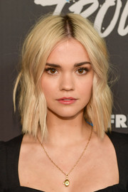 Maia Mitchell sported a short, subtly wavy 'do at the premiere of 'Good Trouble.'