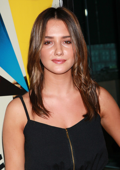 More Pics of Addison Timlin Long Center Part (1 of 5) - Addison Timlin Lookbook - StyleBistro