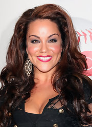 Katy Mixon wore her auburn tresses with load of volume and softly tousled waves at the season premiere of 'Eastbound and Down.'