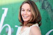 Diane Lane wore a high-volume 'do with flipped ends at the premiere of 'Sharp Objects.'