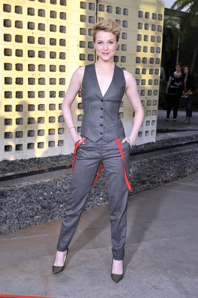 More Pics of Evan Rachel Wood Vest (1 of 15) - Evan Rachel Wood Lookbook - StyleBistro