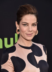 Michelle Monaghan sported a rocker-glam pompadour at the premiere of 'The Path.'