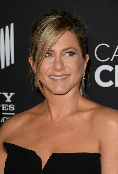 More Pics of Jennifer Aniston Suede Clutch (2 of 76) - Jennifer Aniston Lookbook - StyleBistro